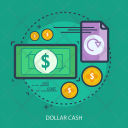 Dollar Cash Business Icon