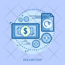 Dollar Cash Finance Icon