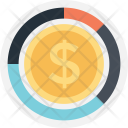 Money Dollar Valuation Icon