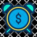 Dollar Alarm Icon