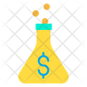 Dollar analytics Icon
