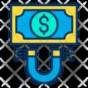 Dollar Attract Money Attraction Cash Icon