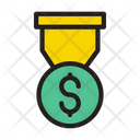 Dollar Badge Dollar Badge Icon