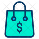 Bag Dollar Shopping Icon