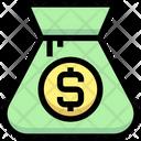 Dollar Bag Pound Bag Money Bag Icon
