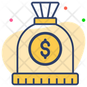 Dollar Bag Money Bag Money Sack Icon