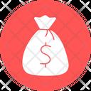 Dollar Bag Dollar Pouch Dollar Sack Icon