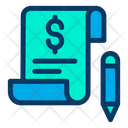 Bill Dollar Pay Icon