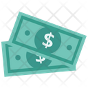 Dollar Bills Dollar Currency Icon