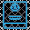 Dollar Book Icon