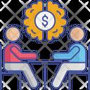 Dollar Brain Icon