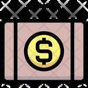 Dollar Briefcase Dollar Money Icon