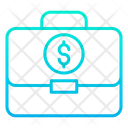 Dollar Business Money Suitcase Money Icon