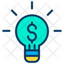 Business Idea Business Marketing Idea Ligtht Bulb Icon