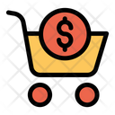 Dollar Cart Icon