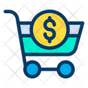 Dollar Cart Icon
