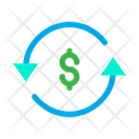Dollar Chargeback Icon