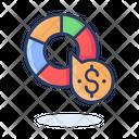 Dollar Chart Financial Chart Dollar Graph Icon