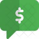 Dollar Chat Icon