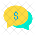 Dollar Chat Bubble Dollar Chat Bubble Icon