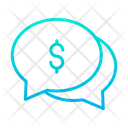 Dollar Chat Bubble Icon