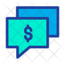 Chat Bubble Dollar Chat Business Chatting Icon