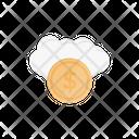 Dollar Cloud Dollar Budget Icon