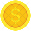 Dollar Coin Money Dollar Icon