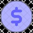 Dollar-coin Icon