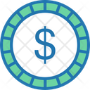 Dollar Dollar Coin Coin Icon