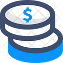 Cost Coin Money Icon