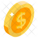 Coin Dollar Coin Currency Coin Icon