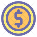 Coin Finance Banking Icon