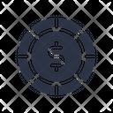 Dollar Coin Icon