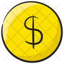 Dollar Coin Currency Savings Icon