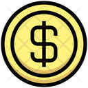 Dollar Coin Coin Dollar Icon