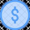 Dollar Coin Coin Coins Icon