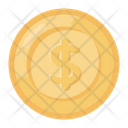 Dollar Coin Currency Coin Cash Icon