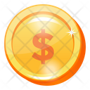 Money Currency Dollar Coin Icon