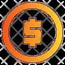 Dollar Coin Dollar Coins Icon