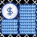 Dollar Coin Coins Money Icon