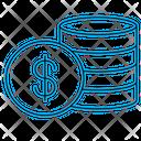 Currency Dollar Dollars Icon