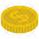 Dollar Coin Money Icon