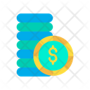 Dollar Coins Dollar Coin Dollar Icon