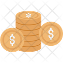 Dollar Coin Dollar Sign Currency Icon