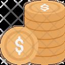 Dollar Coin Dollar Sign Icon