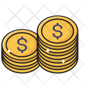 Coins Money Saving Icon