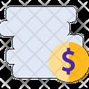Coinsv Dollar Coins Coins Icon