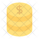 Money Dollar Coins Dollars Icon