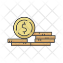 Coin Money Stack Icon